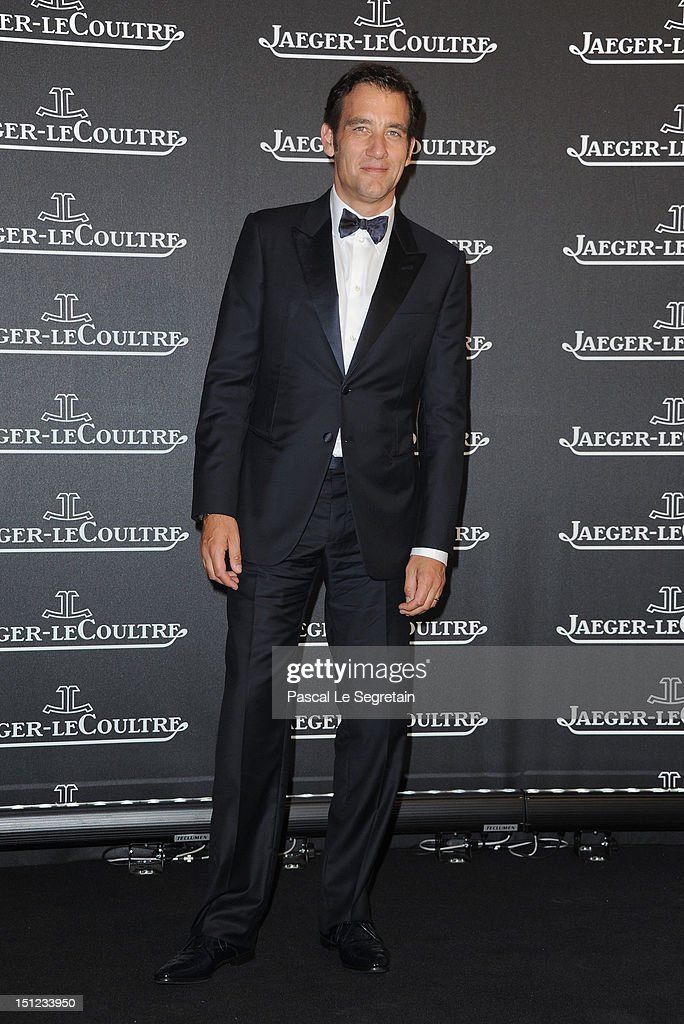 Actor Clive Owen attends a gala dinner hosted by Jaeger-LeCoultre celebrating The Rendez-Vous Collection at Giustinian Palace in Venice during the 69th Venice Film Festival on September 4, 2012 in Venice, Italy.