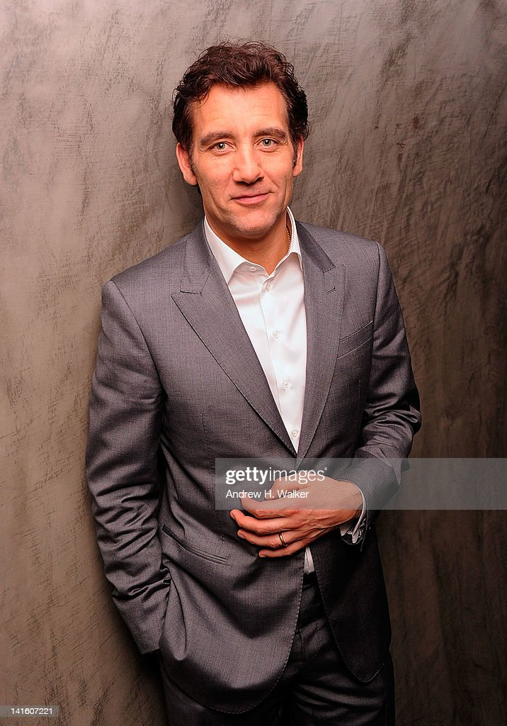 Actor Clive Owen attends the after party for the Giorgio Armani The Cinema Society screening of 'Intruders' at The Double Seven on March 19 2012 in...