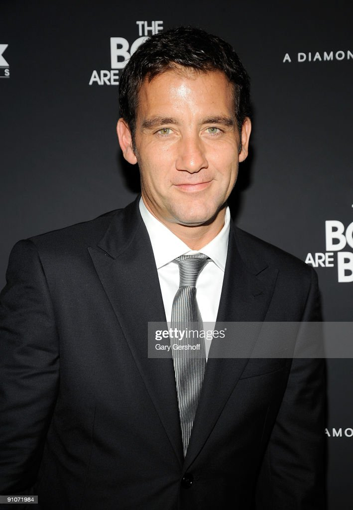 Actor Clive Owen attends 'The Boys Are Back' premiere at Cinema 2 on September 23 2009 in New York City