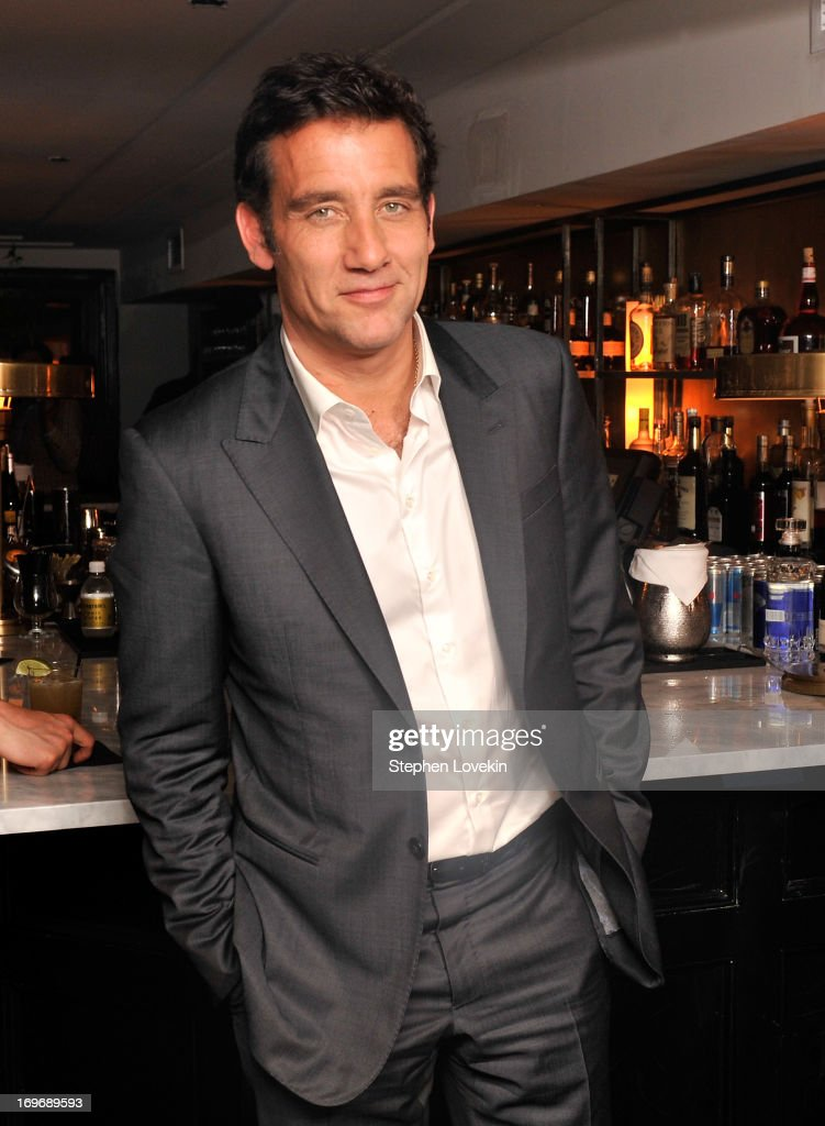 Actor Clive Owen attends The Cinema Society BlackBerry Host A Screening Of Magnolia Pictures' 'Shadow Dancer' After Party on May 30 2013 in New York...