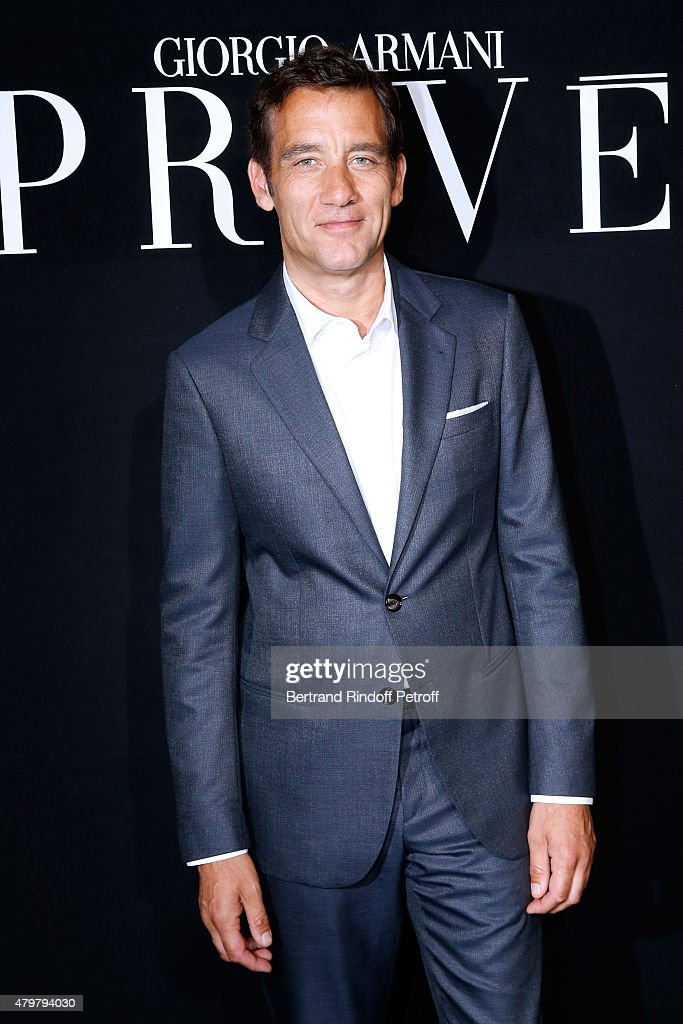 Actor <a gi-track='captionPersonalityLinkClicked' href=/galleries/search?phrase=Clive+Owen&family=editorial&specificpeople=201515 ng-click='$event.stopPropagation()'>Clive Owen</a> attends the Giorgio Armani Prive show as part of Paris Fashion Week Haute-Couture Fall/Winter 2015/2016. Held at Palais de Chaillot on July 7, 2015 in Paris, France.