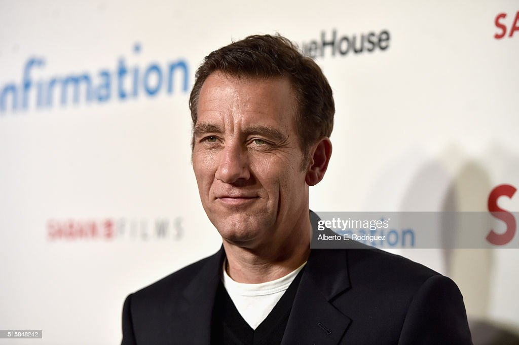 Actor <a gi-track='captionPersonalityLinkClicked' href=/galleries/search?phrase=Clive+Owen&family=editorial&specificpeople=201515 ng-click='$event.stopPropagation()'>Clive Owen</a> attends the premiere of Saban Films' 'The Confirmation' on March 15, 2016 in Los Angeles, California.
