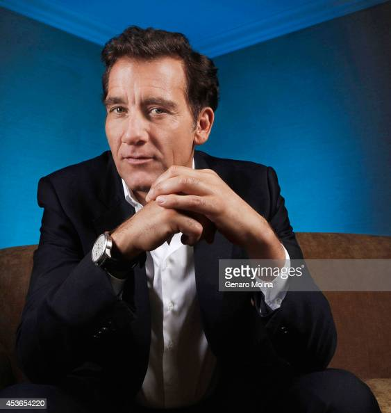 Actor Clive Owen is photographed for Los Angeles Times on May 16 2014 in West Hollywood California CREDIT MUST READ Genaro Molina/Los Angeles...