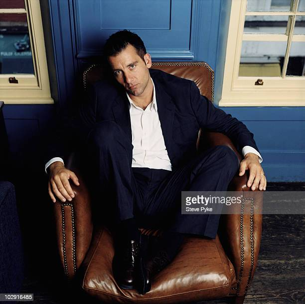 Actor Clive Owen poses for a portrait shoot in London UK