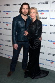 Actor Clive Standen and Francesca Standen attend Magnolia Pictures And Participant Media With The Cinema Society Present A Screening Of 'A Place At...