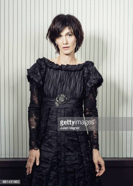 Actor Clotilde Hesme is photographed for Grazia magazine on May 23 2017 in Cannes France