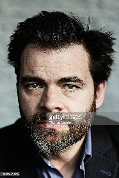 Actor Clovis Cornillac is photographed for Le Film Francais on January 22 2015 in Paris France