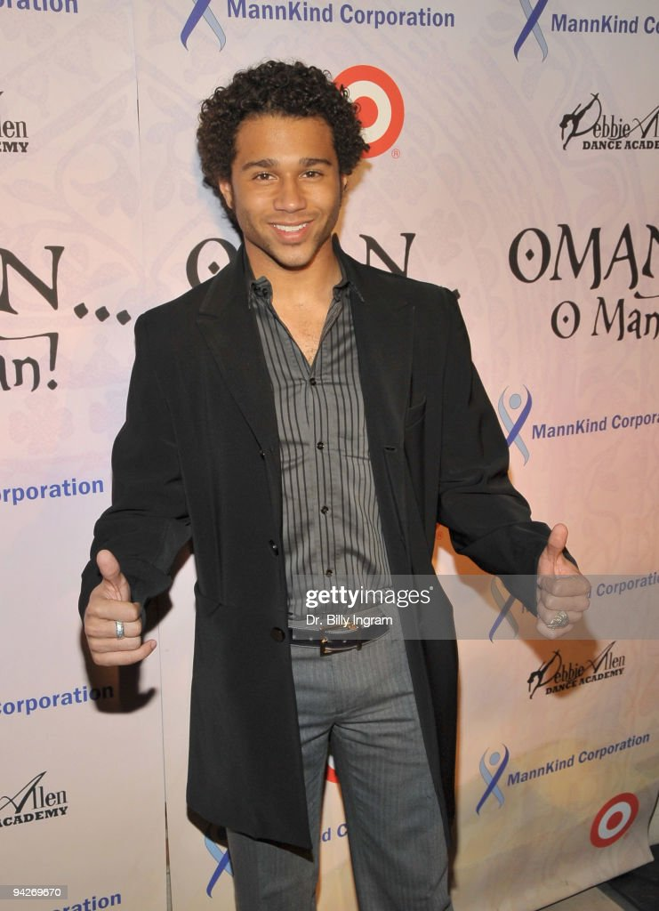Actor Cobrin Bleu arrives at Debbie Allen's 'OMAN, Oh Man!' Opening Night Gala at Royce Hall, UCLA on December 10, 2009 in Westwood, California.