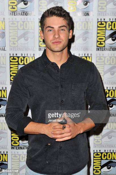 Actor Cody Christian attends 'Teenwolf' press line at Comic Con on July 21 2017 in San Diego California