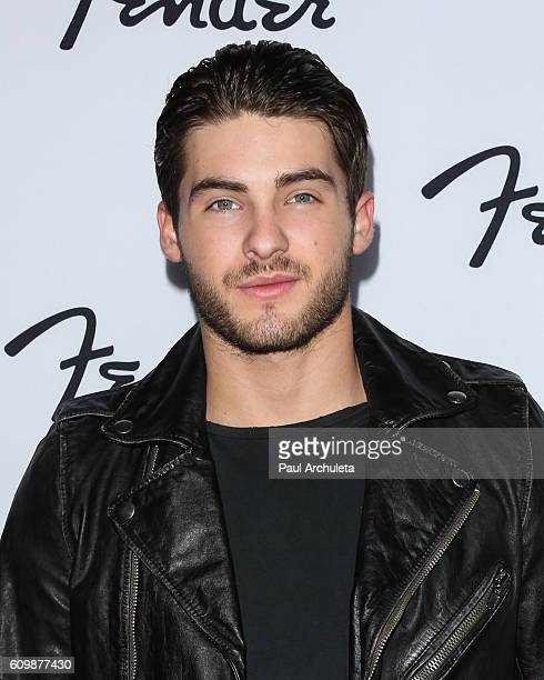 Actor Cody Christian attends the grand opening of the Fender Hollywood offices at Fender Musical Instruments Corporation on September 22 2016 in Los...
