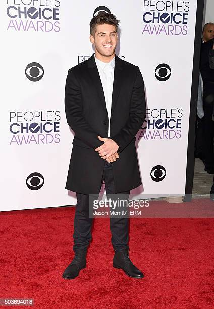 Actor Cody Christian attends the People's Choice Awards 2016 at Microsoft Theater on January 6 2016 in Los Angeles California