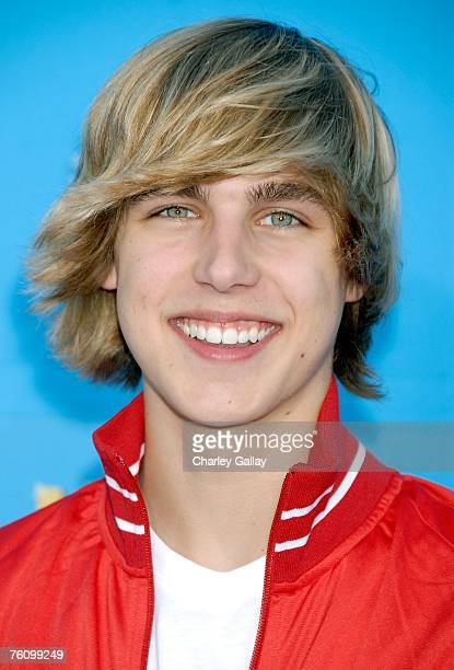 Actor Cody Linley arrives to the world premiere of Disney Channel's 'High School Musical 2' held at the Downtown Disney District at Disneyland Resort...