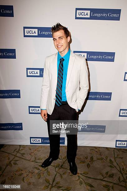 Actor Cody Linley attend the 'UCLA Longevity Center's 2013 Icon Awards' at Beverly Hills Hotel on May 21 2013 in Beverly Hills California
