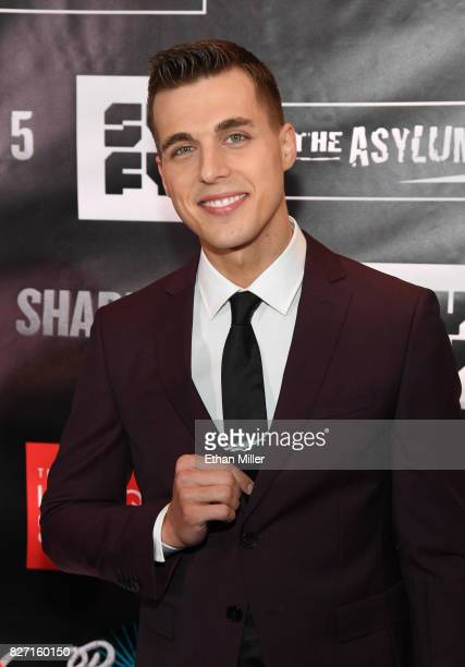 Actor Cody Linley attends the premiere of 'Sharknado 5 Global Swarming' at The LINQ Hotel Casino on August 6 2017 in Las Vegas Nevada
