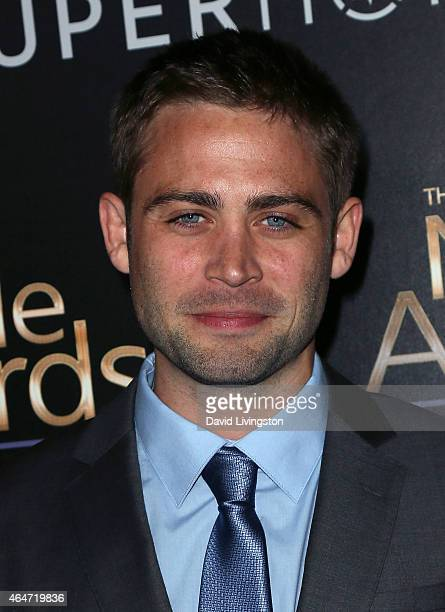 Actor Cody Walker attends the 3rd Annual Noble Awards at the Beverly Hilton Hotel on February 27 2015 in Beverly Hills California