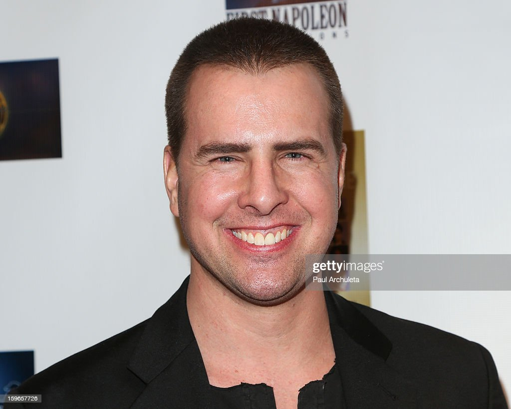 Actor Cole Downing attends the premiere for 'Not Another Celebrity Movie' at Pacific Design Center on January 17, 2013 in West Hollywood, California.