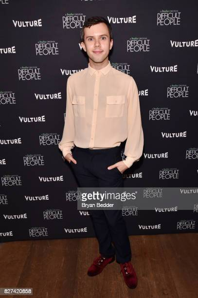 Actor Cole Escola attends Vulture Hulu's screening of 'Difficult People' on August 7 2017 in New York City