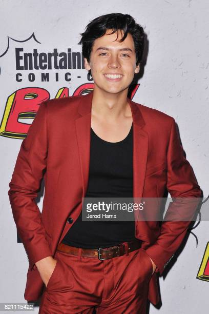 Actor Cole Sprouse arrives at Entertainment Weekly's Annual ComicCon Party at Float at Hard Rock Hotel San Diego on July 22 2017 in San Diego...