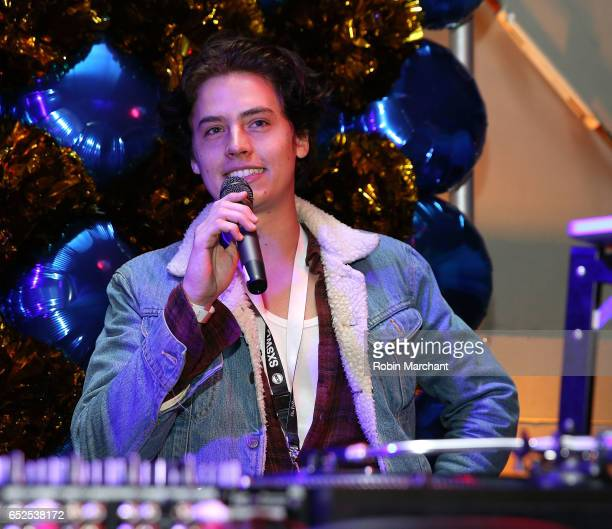 Actor Cole Sprouse attends BuzzFeed and The CW's Riverdale Presents Pep Rally on March 11 2017 in Austin Texas