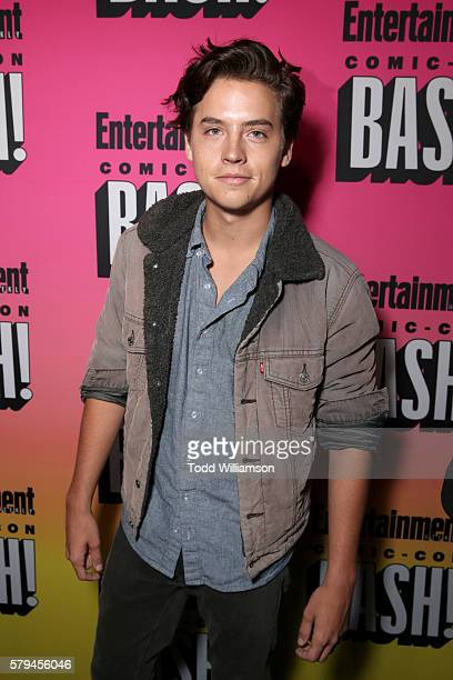 Actor Cole Sprouse attends Entertainment Weekly's ComicCon Bash held at Float Hard Rock Hotel San Diego on July 23 2016 in San Diego California...