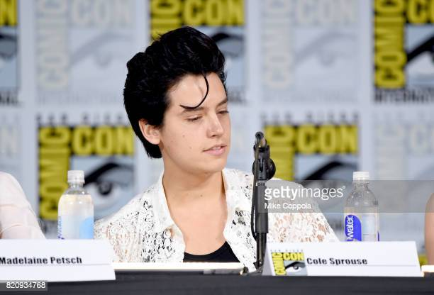 Actor Cole Sprouse attends 'Riverdale' special video presentation and QA during ComicCon International 2017 at San Diego Convention Center on July 22...