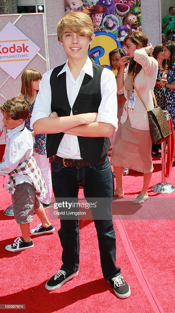 Actor Cole Sprouse attends the Los Angeles premiere of 'Toy Story 3' at the El Capitan Theatre on June 13, 2010 in Hollywood, California.