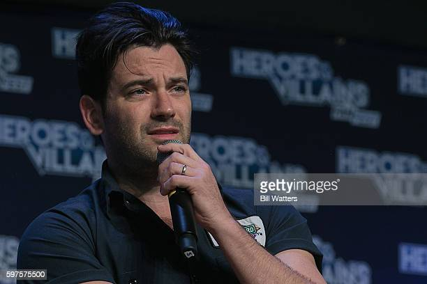Actor Colin Donnell attends the Archer panel during Heroes and Villains Fan Fest at San Jose Convention Center on August 28 2016 in San Jose...
