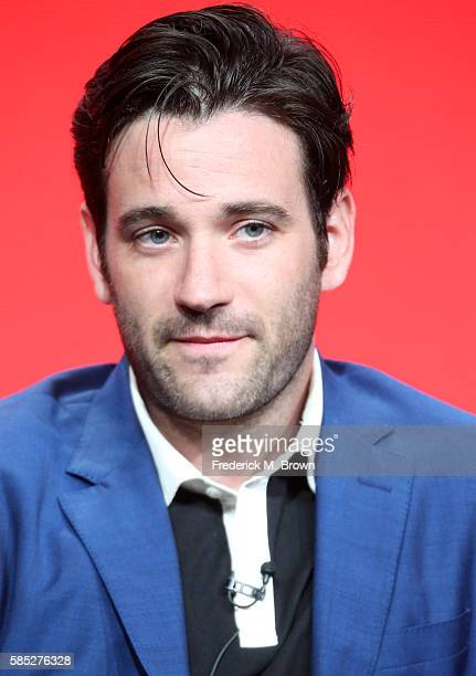 Actor Colin Donnell speaks onstage at the 'Chicago Med' panel discussion during the NBCUniversal portion of the 2016 Television Critics Association...