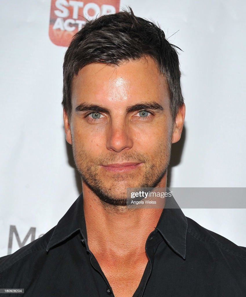 Actor <a gi-track='captionPersonalityLinkClicked' href=/galleries/search?phrase=Colin+Egglesfield&family=editorial&specificpeople=584090 ng-click='$event.stopPropagation()'>Colin Egglesfield</a> arrives at Margie Haber Studio's 'Stop Acting App: The Audition Class with Margie Haber' release launch party at Aventine Hollywood on September 17, 2013 in Hollywood, California.