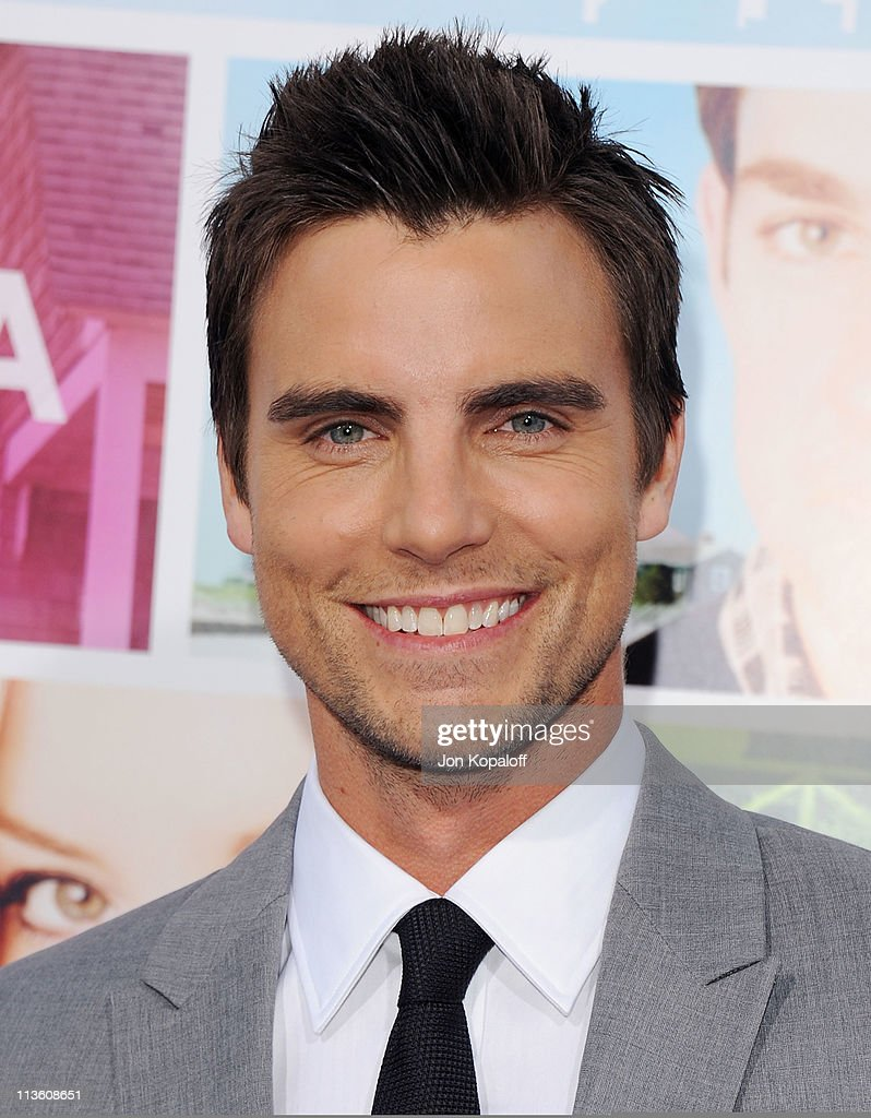 Actor <a gi-track='captionPersonalityLinkClicked' href=/galleries/search?phrase=Colin+Egglesfield&family=editorial&specificpeople=584090 ng-click='$event.stopPropagation()'>Colin Egglesfield</a> arrives at the Los Angeles Premiere 'Something Borrowed' at Grauman's Chinese Theatre on May 3, 2011 in Hollywood, California.