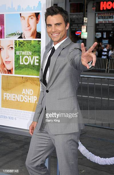 Actor Colin Egglesfield arrives at the Los Angeles Premiere 'Something Borrowed' at Grauman's Chinese Theatre on May 3 2011 in Hollywood California