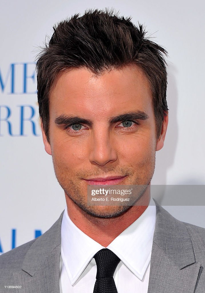 Actor <a gi-track='captionPersonalityLinkClicked' href=/galleries/search?phrase=Colin+Egglesfield&family=editorial&specificpeople=584090 ng-click='$event.stopPropagation()'>Colin Egglesfield</a> arrives at the premiere of Warner Bros. 'Something Borrowed' held at Grauman's Chinese Theatre on May 3, 2011 in Hollywood, California.