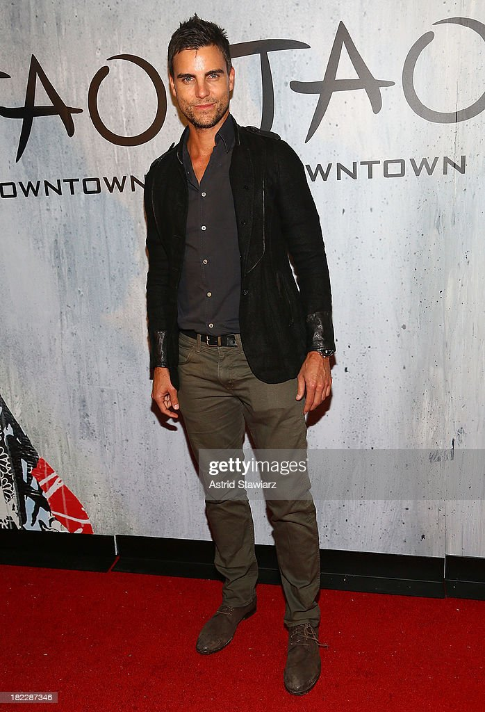 Actor <a gi-track='captionPersonalityLinkClicked' href=/galleries/search?phrase=Colin+Egglesfield&family=editorial&specificpeople=584090 ng-click='$event.stopPropagation()'>Colin Egglesfield</a> attends TAO Downtown Grand Opening on September 28, 2013 in New York City.