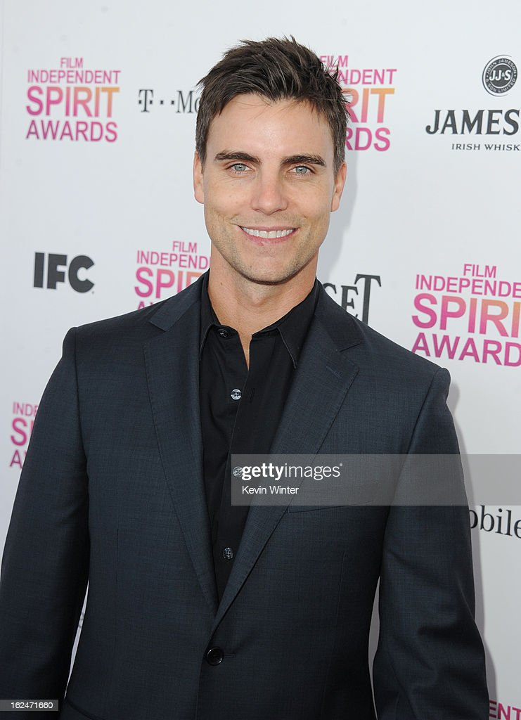 Actor <a gi-track='captionPersonalityLinkClicked' href=/galleries/search?phrase=Colin+Egglesfield&family=editorial&specificpeople=584090 ng-click='$event.stopPropagation()'>Colin Egglesfield</a> attends the 2013 Film Independent Spirit Awards at Santa Monica Beach on February 23, 2013 in Santa Monica, California.