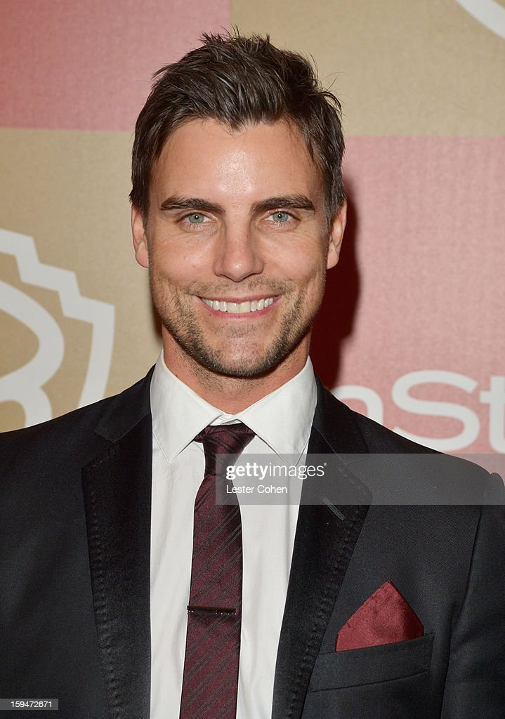 Actor <a gi-track='captionPersonalityLinkClicked' href=/galleries/search?phrase=Colin+Egglesfield&family=editorial&specificpeople=584090 ng-click='$event.stopPropagation()'>Colin Egglesfield</a> attends the 2013 InStyle and Warner Bros. 70th Annual Golden Globe Awards Post-Party held at the Oasis Courtyard in The Beverly Hilton Hotel on January 13, 2013 in Beverly Hills, California.