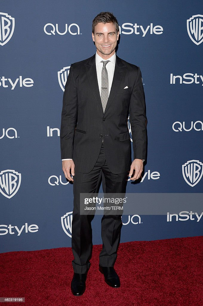 Actor <a gi-track='captionPersonalityLinkClicked' href=/galleries/search?phrase=Colin+Egglesfield&family=editorial&specificpeople=584090 ng-click='$event.stopPropagation()'>Colin Egglesfield</a> attends the 2014 InStyle and Warner Bros. 71st Annual Golden Globe Awards Post-Party on January 12, 2014 in Beverly Hills, California.