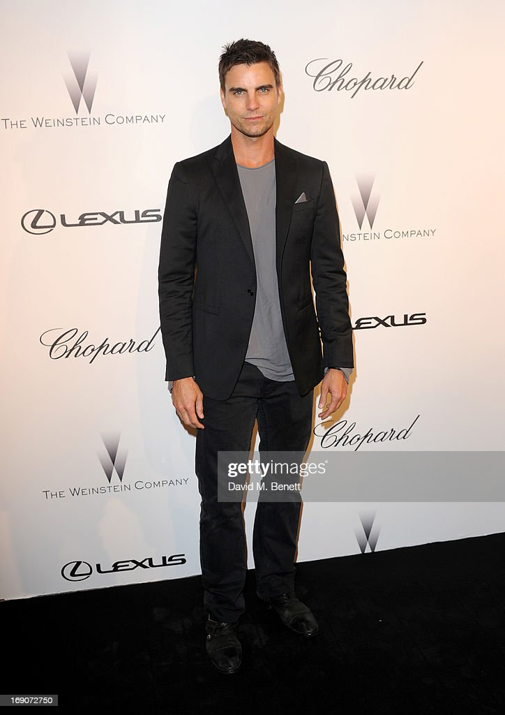 Actor <a gi-track='captionPersonalityLinkClicked' href=/galleries/search?phrase=Colin+Egglesfield&family=editorial&specificpeople=584090 ng-click='$event.stopPropagation()'>Colin Egglesfield</a> attends The Weinstein Company Party in Cannes hosted by Lexus and Chopard at Baoli Beach on May 19, 2013 in Cannes, France.
