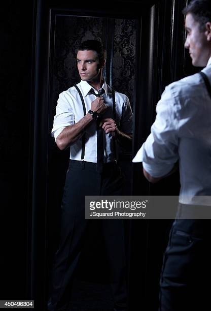Actor Colin Egglesfield is photographed for Self Assignment on July 10 2009 in Los Angeles California