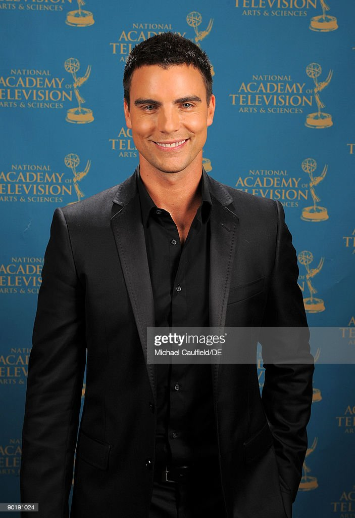 Actor Colin Egglesfield poses for a portrait at the 36th Annual Daytime Emmy Awards at The Orpheum Theatre on August 30, 2009 in Los Angeles, California.