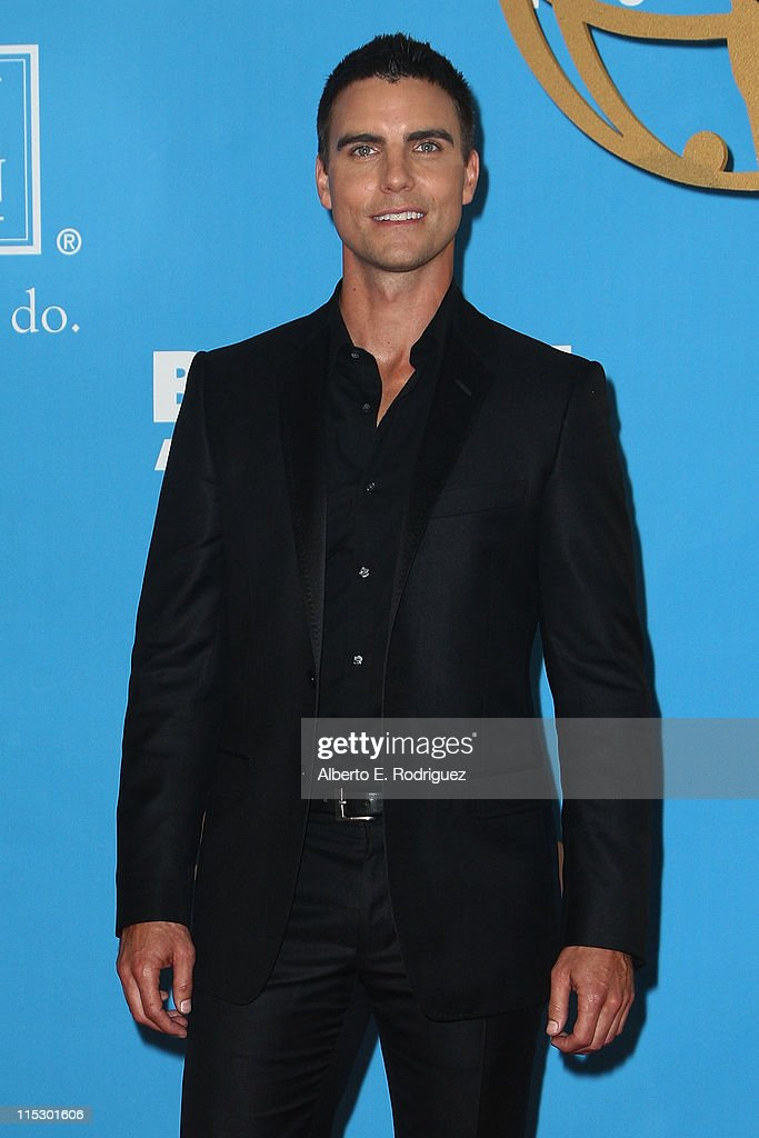 Actor <a gi-track='captionPersonalityLinkClicked' href=/galleries/search?phrase=Colin+Egglesfield&family=editorial&specificpeople=584090 ng-click='$event.stopPropagation()'>Colin Egglesfield</a> poses in the press room during the 36th Annual Daytime Emmy Awards at The Orpheum Theatre on August 30, 2009 in Los Angeles, California.