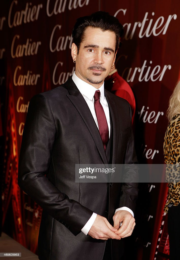 Actor <a gi-track='captionPersonalityLinkClicked' href=/galleries/search?phrase=Colin+Farrell&family=editorial&specificpeople=202154 ng-click='$event.stopPropagation()'>Colin Farrell</a> arrives at the 25th annual Palm Springs International Film Festival awards gala at Palm Springs Convention Center on January 4, 2014 in Palm Springs, California.