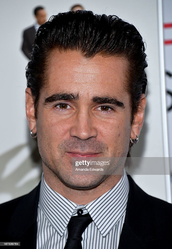 Actor Colin Farrell arrives at the AFI FEST 2013 Presented By Audi - Disney's 'Saving Mr. Banks' Opening Night Gala Premiere at the TCL Chinese Theatre on November 7, 2013 in Hollywood, California.