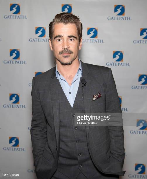 Actor Colin Farrell arrives at the annual 'Power Of Possibilities' dinner at San Francisco Airport Marriott on March 23 2017 in Burlingame California