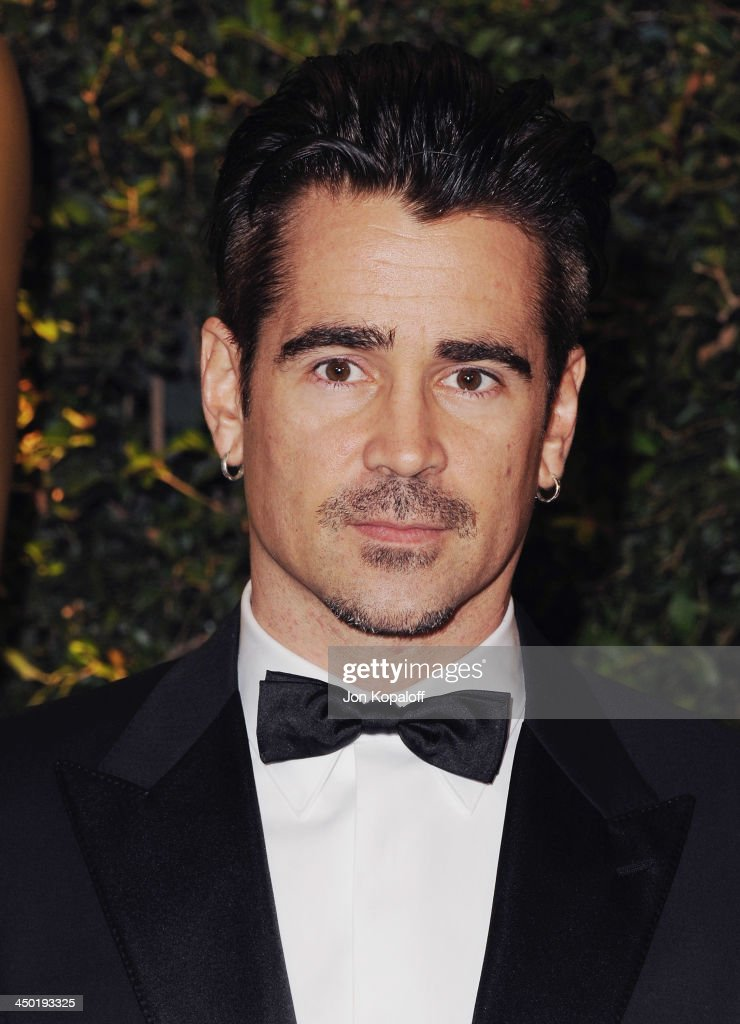 Actor <a gi-track='captionPersonalityLinkClicked' href=/galleries/search?phrase=Colin+Farrell&family=editorial&specificpeople=202154 ng-click='$event.stopPropagation()'>Colin Farrell</a> arrives at The Board Of Governors Of The Academy Of Motion Picture Arts And Sciences' Governor Awards at Dolby Theatre on November 16, 2013 in Hollywood, California.