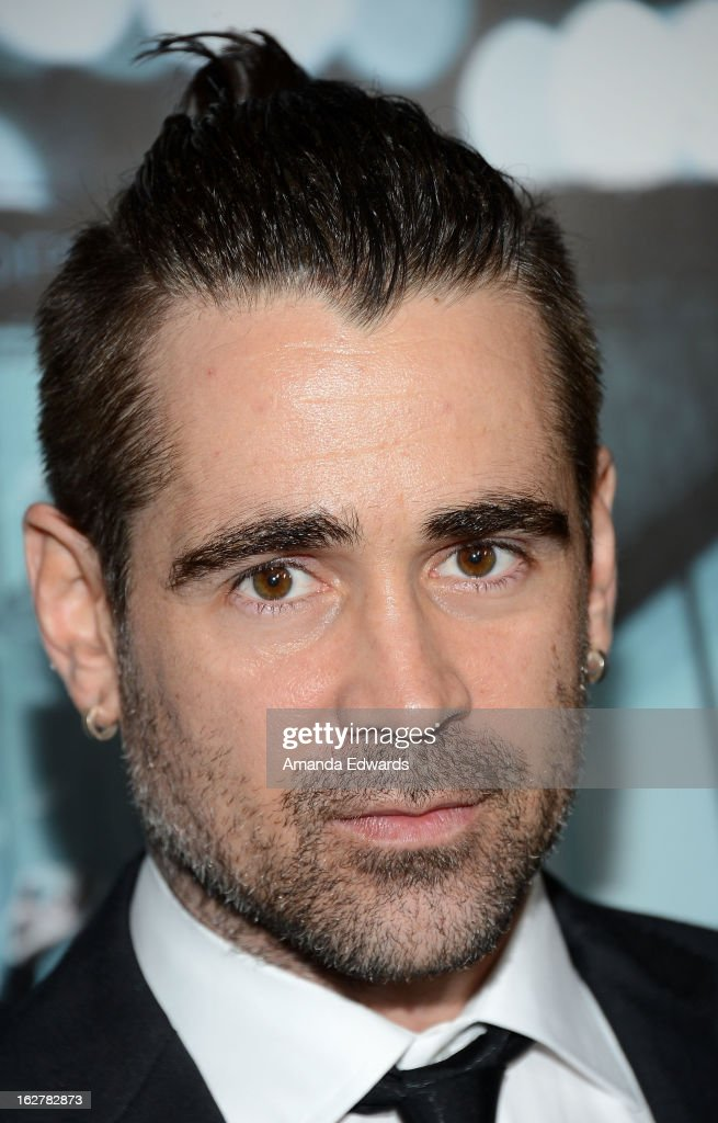 Actor <a gi-track='captionPersonalityLinkClicked' href=/galleries/search?phrase=Colin+Farrell&family=editorial&specificpeople=202154 ng-click='$event.stopPropagation()'>Colin Farrell</a> arrives at the Los Angeles Premiere of 'Dead Man Down' at ArcLight Hollywood on February 26, 2013 in Hollywood, California.