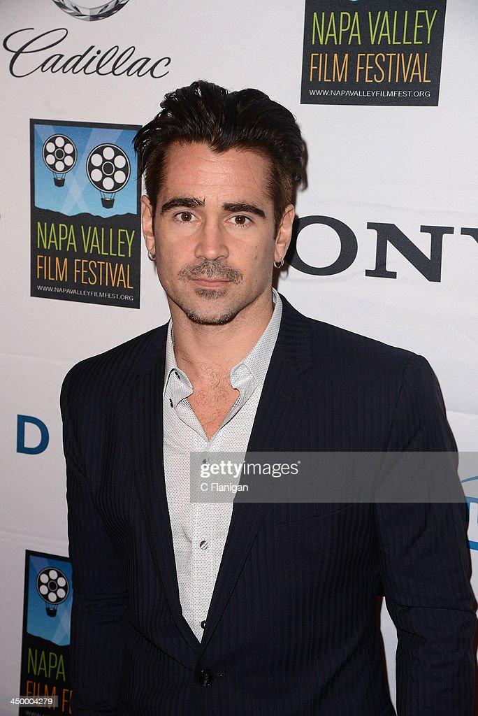 Actor Colin Farrell arrives at the Napa Valley Film Festival Celebrity Tribute on November 15, 2013 in Napa, California.