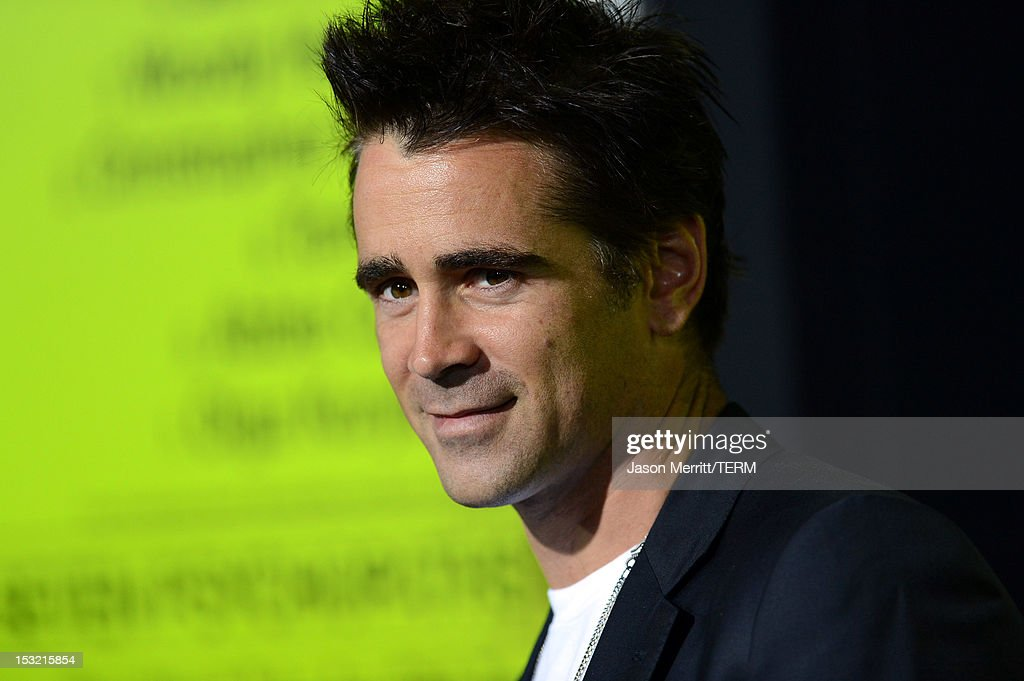 Actor <a gi-track='captionPersonalityLinkClicked' href=/galleries/search?phrase=Colin+Farrell&family=editorial&specificpeople=202154 ng-click='$event.stopPropagation()'>Colin Farrell</a> arrives at the premiere of CBS Films' 'Seven Psychopaths' at Mann Bruin Theatre on October 1, 2012 in Westwood, California.