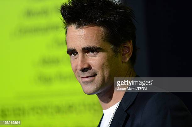 Actor Colin Farrell arrives at the premiere of CBS Films' 'Seven Psychopaths' at Mann Bruin Theatre on October 1 2012 in Westwood California