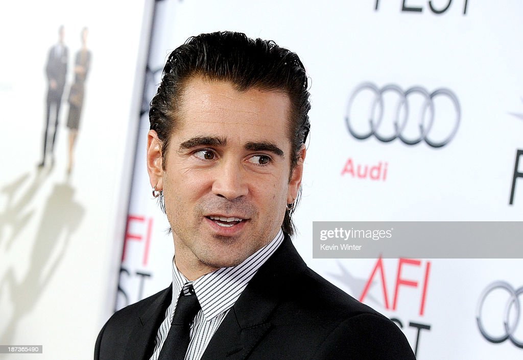 Actor <a gi-track='captionPersonalityLinkClicked' href=/galleries/search?phrase=Colin+Farrell&family=editorial&specificpeople=202154 ng-click='$event.stopPropagation()'>Colin Farrell</a> arrives at Walt Disney Pictures' 'Saving Mr. Banks' during AFI FEST 2013 presented by Audi at TCL Chinese Theatre on November 7, 2013 in Hollywood, California.