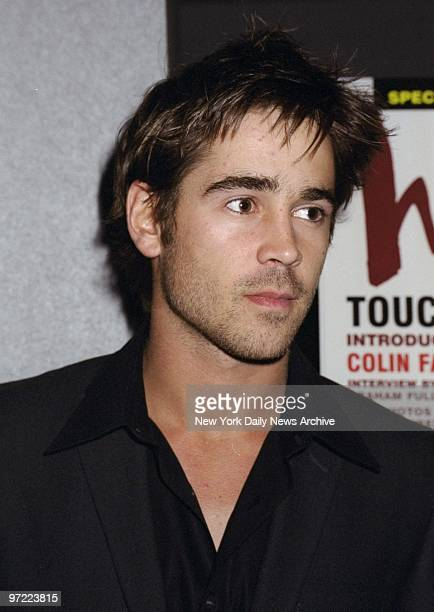 Actor Colin Farrell arrives for a screening of the movie 'Tigerland' at the Union Square Theater He stars in ther film